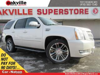 Used 2013 Cadillac Escalade AWD | LEATHER | SUNROOF | DVD | NAVI | B/U CAM for sale in Oakville, ON