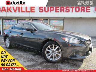 Used 2014 Mazda MAZDA6 GS | LEATHER | SUNROOF | NAVI | B/U CAM | A/C for sale in Oakville, ON