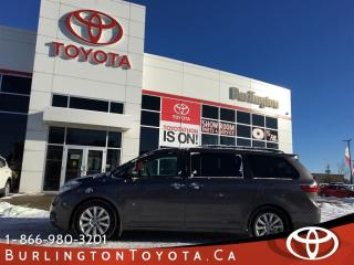Used 2015 Toyota Sienna LIMITED NAVI for sale in Burlington, ON