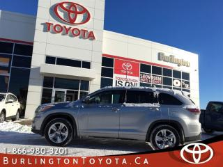 Used 2015 Toyota Highlander LIMITED 7 pass for sale in Burlington, ON