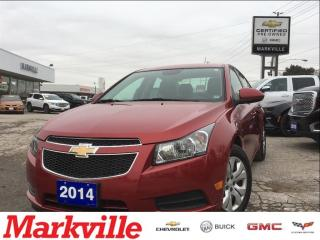 Used 2014 Chevrolet Cruze 1LT -ONE OWNER TRADE - CERTIFIED PRE-OWNED for sale in Markham, ON
