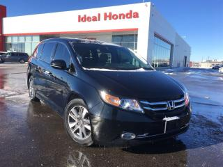 Used 2015 Honda Odyssey Touring w/RES & Navi for sale in Mississauga, ON
