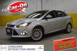 Used 2012 Ford Focus Titanium LEATHER SUNROOF NAV HTD SEATS LOADED for sale in Ottawa, ON