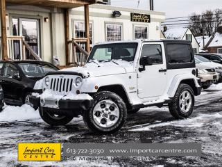 Used 2013 Jeep Wrangler Sahara for sale in Ottawa, ON