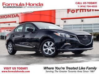 Used 2016 Mazda MAZDA3 $100 PETROCAN CARD YEAR END SPECIAL! for sale in Scarborough, ON