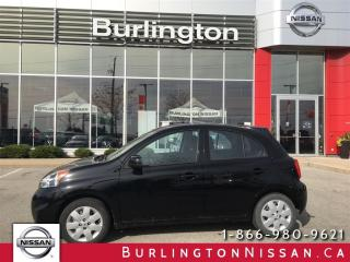 Used 2015 Nissan Micra SV, ACCIDENT FREE & LOW KM'S ! for sale in Burlington, ON