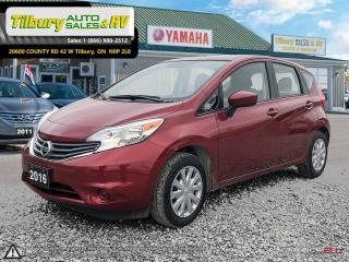 Used 2016 Nissan Versa Note 1.6 SV (CVT). REVERSE CAM, CLEAN. for sale in Tilbury, ON