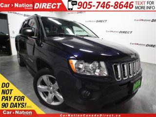 Used 2011 Jeep Compass Limited| LEATHER| SUNROOF| TOUCH SCREEN| 4X4| for sale in Burlington, ON