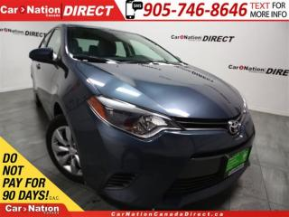 Used 2016 Toyota Corolla LE| HEATED SEATS| TOUCH SCREEN| for sale in Burlington, ON