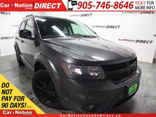 Used 2014 Dodge Journey Blacktop| 8.4 TOUCH SCREEN| PUSH START| for sale in Burlington, ON