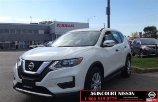 Used 2017 Nissan Rogue S FWD CVT |Blind Spot|Camera|USB|Non Rental| for sale in Scarborough, ON