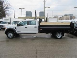 Used 2017 Ford F-550 Crew Cab 4x4 diesel with 12 ft steel dump for sale in Richmond Hill, ON