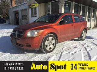 Used 2009 Dodge Caliber SXT/LOW, LOW KMS/POWER MOONROOF! for sale in Kitchener, ON