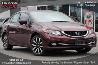 Used 2015 Honda Civic Sedan Touring CVT for sale in Pickering, ON