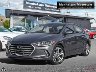 Used 2017 Hyundai Elantra GLS |AUTO|FAC.WARRANTY|ROOF|ALLOY|32000KM for sale in Scarborough, ON