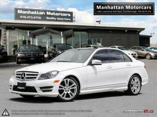 Used 2013 Mercedes-Benz C350 C350 4MATIC AMG PKG |NAV|BLINDSPT|CAMERA|PANO for sale in Scarborough, ON