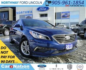 Used 2015 Hyundai Sonata GL | REAR CAMERA | HEATED SEATS | for sale in Brantford, ON