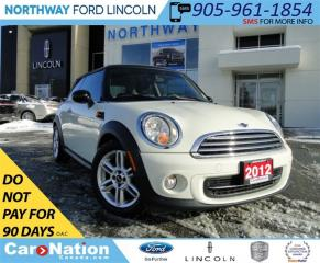 Used 2012 MINI Cooper Classic BAKER ST. EDITION | HEATED LEATHER | LOW KM'S | for sale in Brantford, ON