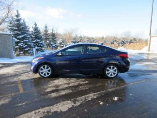 Used 2013 Hyundai ELANTRA  LIMITED FWD for sale in Cayuga, ON