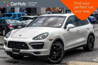 Used 2011 Porsche Cayenne Turbo AWD|Nav|BackUpCam|Burmester|Pk.Asst.|HeatSeats|21