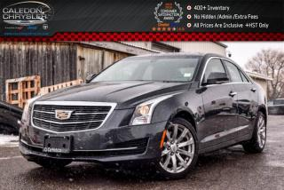 Used 2017 Cadillac ATS Sedan Luxury AWD|Navi|Sunroof|Backup Cam|Bluetooth|Leather|Heated Front Seats|17