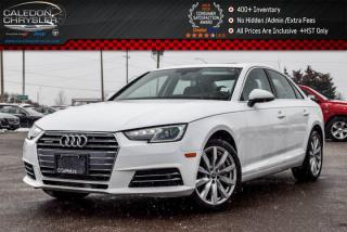 Used 2017 Audi A4 Komfort|Quattro|Only 9548 Km|Sunroof|Bluetooth|Leather|Heated Front Seats|17