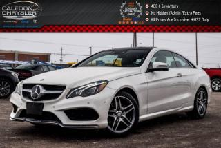 Used 2017 Mercedes-Benz E-Class E 400|4Matic|Navi|Pano Sunroof|Bluetooth|360 Backup Cam|Blind Spot|18