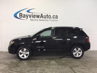 Used 2014 Jeep Compass NORTH EDITION- 4x4|REM STRT|HTD STS|CRUISE|LOW KM! for sale in Belleville, ON