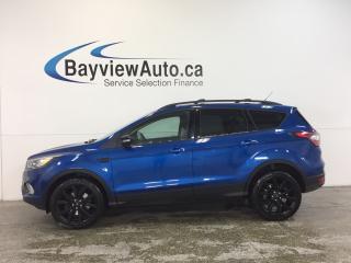 Used 2017 Ford Escape TITANIUM- 4WD|ECOBOOST|REM STRT|HTD LTHR|NAV|SONY! for sale in Belleville, ON