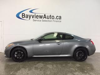 Used 2015 Infiniti Q60 S- AWD|ROOF|HTD LTHR|NAV|BOSE|BSA|ADAPTIVE CRUISE! for sale in Belleville, ON