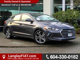 Used 2017 Hyundai Elantra GLS NO ACCIDENTS, B.C OWNED for sale in Surrey, BC