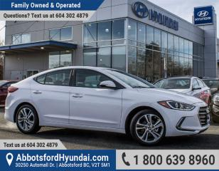 Used 2017 Hyundai Elantra GLS ACCIDENT FREE & GREAT CONDITION for sale in Abbotsford, BC