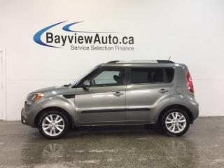 Used 2013 Kia Soul 2U- 6 SPEED|ALLOYS|HTD STS|BLUETOOTH|CRUISE! for sale in Belleville, ON
