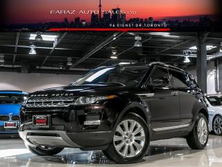 Used 2014 Land Rover Evoque PRESTIGE|B.SPOT|LDW|NAVI|360CAM|PANO|LOADED for sale in North York, ON