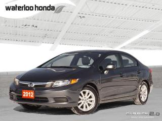 Used 2012 Honda Civic EX Bluetooth, Moonroof and More! for sale in Waterloo, ON