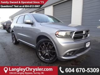 Used 2017 Dodge Durango R/T *ACCIDENT FREE * LOCAL BC CAR * for sale in Surrey, BC