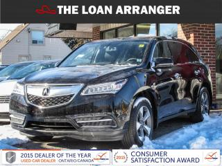 Used 2014 Acura MDX for sale in Barrie, ON