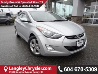 Used 2012 Hyundai Elantra GLS *ACCIDENT FREE*ONE OWNER*LOCAL BC CAR* for sale in Surrey, BC