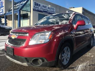 Used 2012 Chevrolet Orlando AUTOMATIC|AUX INPUT|ALLOY WHEELS|CERTIFIED for sale in Concord, ON