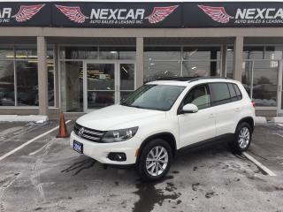Used 2014 Volkswagen Tiguan 2.0TSI COMFORTLINE AUT0 AWD LEATHER PANO/ROOF 76K for sale in North York, ON