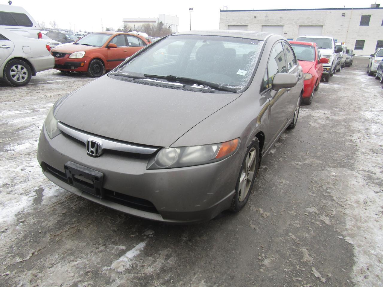 Photo of Grey 2007 Honda Civic