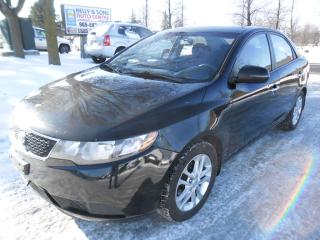 Used 2011 Kia Forte EX w/Sunroof for sale in Ajax, ON
