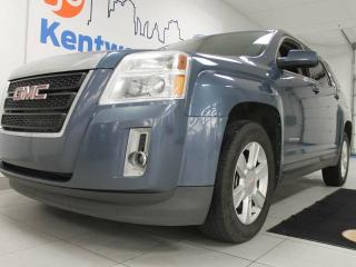 Used 2011 GMC Terrain SLE-1 AWD- power leather seats- beautiful blue colour- It can't be beat for sale in Edmonton, AB