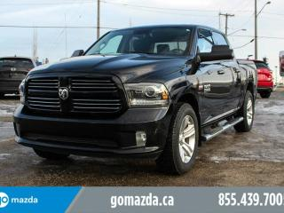 Used 2014 Dodge Ram 1500 Sport 4X4 LEATHER SUNROOF NAVIGATION COOLED SEATS for sale in Edmonton, AB