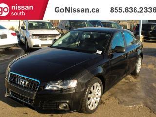 Used 2012 Audi A4 2.0T PREMIUM for sale in Edmonton, AB