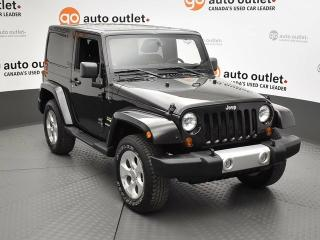 Used 2013 Jeep Wrangler SAHARA 4X4 for sale in Red Deer, AB