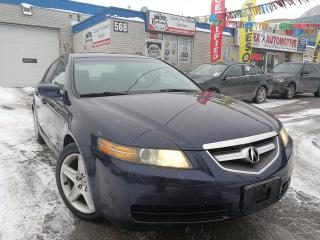 Used 2004 Acura TL Base w/NAVI_Backup Camera_Leather_Sunroof for sale in Oakville, ON