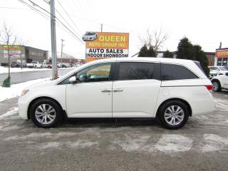 Used 2015 Honda Odyssey EX-L w/Navi | Rear DVD | 8 Passenger | Leather for sale in North York, ON