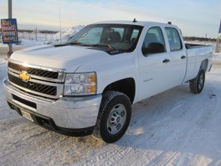 Used 2014 Chevrolet Silverado 2500 WT Crew Cab for sale in Thunder Bay, ON