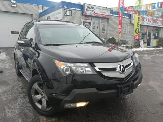 Used 2008 Acura MDX Elite Package_NAVI_DVD_Leather_Sunroof for sale in Oakville, ON